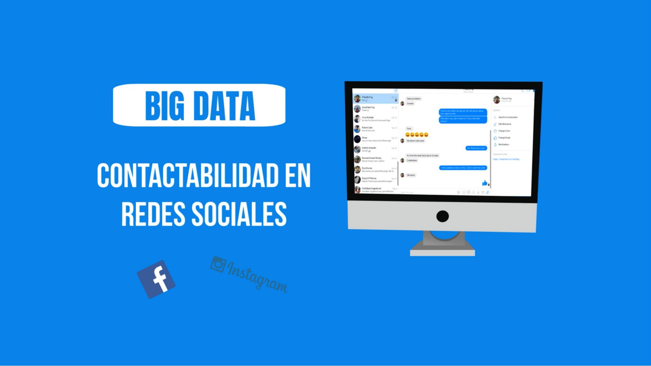 Bases de Datos de Tus Contactos en Redes Sociales Asociados a un Rut